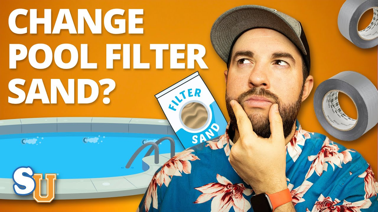 Pool Filteranlage Sand Wechseln 3 Ways To Change The Sand In A Pool Filter Wikihow