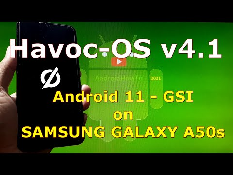 Havoc-OS v4.1 Android 11 for Samsung Galaxy A50s - GSI