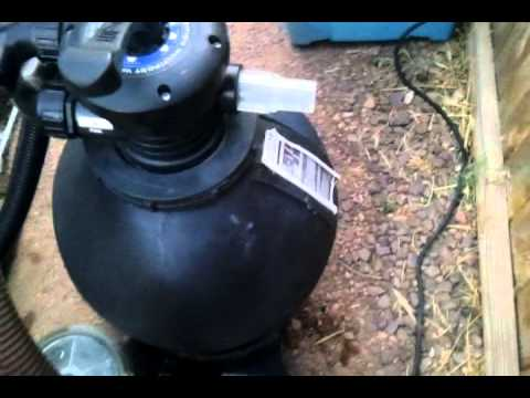 Upgraded Pool Pump Filter And Hayward Navigator Youtube
