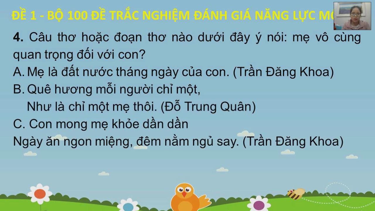 Chữa đề thi ôn tập kiến thức Tiếng Việt lớp 5 lên 6 (Đề số 1)