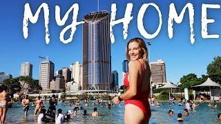 There's a beach in the city // Brisbane, Australia