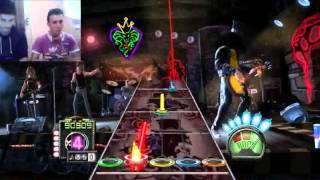 playing guitar hero 3 with a broken joystick challenge accepted 2