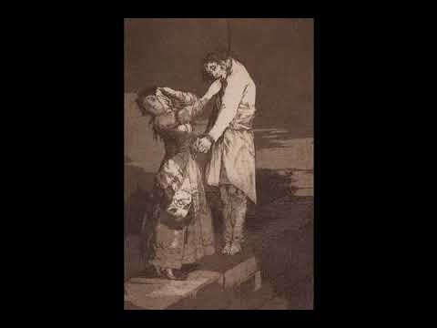 Out Hunting for Teeth. Caprice 12. Francisco de Goya