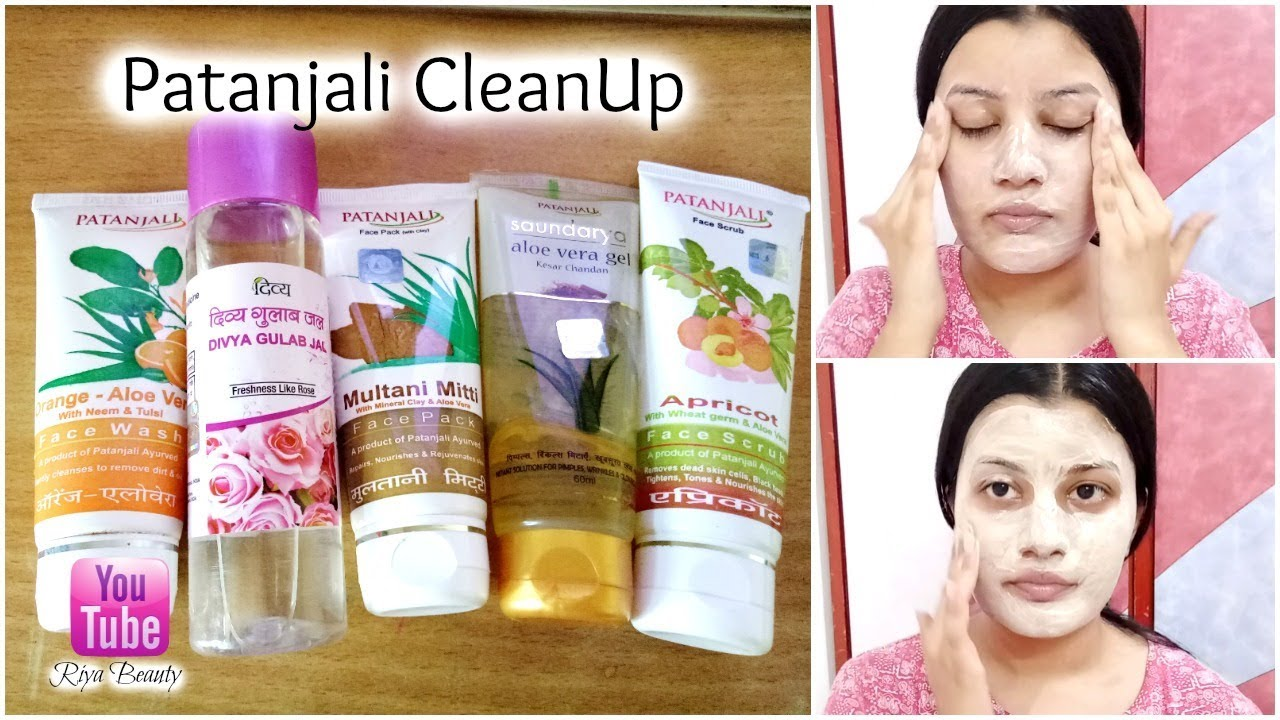 Patanjali - One Brand Face Clean Up At Home || Only Patanjali Products