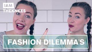 De straat op in je slobber trui?! Fashion Dilemma