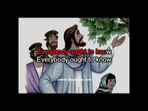 Everybody Ought To Know Who Jesus Is -- music video