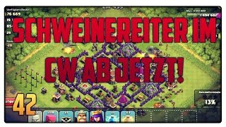 Let´s Play Clash of Clans #42 [GER] | Schweinereiter im Clankrieg | Vicevice