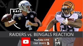Raiders vs. Bengals INSTANT Reaction To Oakland's 17-10 WIN In NFL Week 11