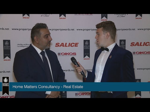 Home Matters Consultancy – International Property Awards Dubai