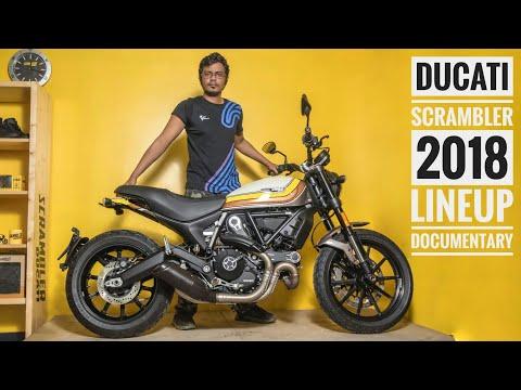 2018 Ducati Scrambler Full Lineup | Mach 2.0 | Classic |  Desert Sled | Icon | RWR