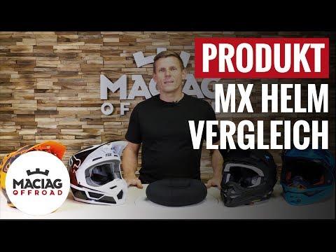 Bester MX Helm: Produktvergleich Einsteiger Mittelklasse und Profi