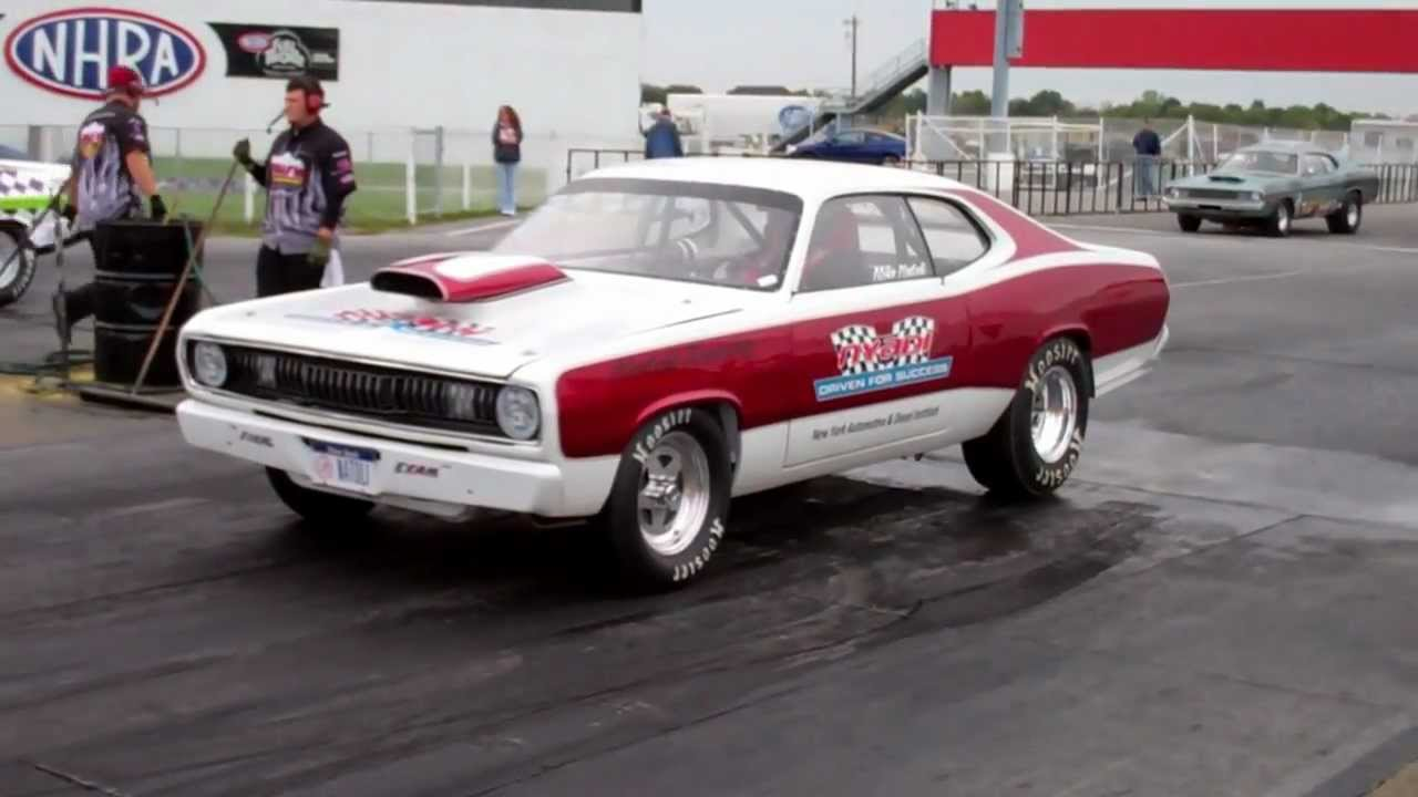 Nyadi Racing Mike Natoli 71 Plymouth Duster 340 Youtube