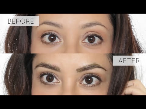 How To Tint Your Eyebrows At Home Tutorial | LynSire