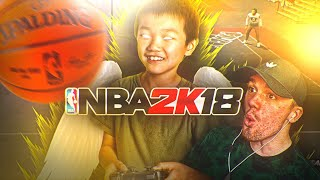 TURNING 7 YEAR OLD SUBSCRIBER INTO A DRIBBLE G0D! 😱 HE DRIBBLES LIKE STEEZO NOW?!