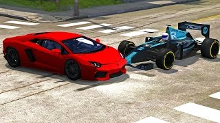 BeamNG Drive High Speed Crash Compilation Montage #14