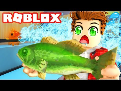 SOMETHING GOES WRONG...ESCAPE THE FISH STORE ROBLOX OBBY!