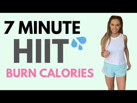 7 MINUTE WORKOUT AT HOME | FULL BODY CALORIE BURNER | GET FIT AT HOME | LUCY WYNDHAM READ