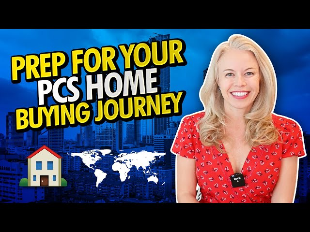 Prepare For Your PCS (Permanent Change of Station) Home Buying Journey 🇺🇸 🏠 (Military Life)