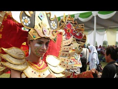 Parade Budaya Festival Way Kambas 2018