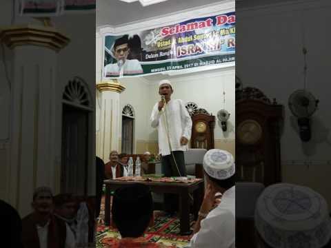 Ust Somad Siri2 - Masjid Hijiriyah Desa Koto Mesjid Kampar Riau
