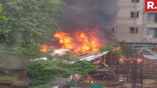 Breaking News! UP Government's Chartered Plane Crashes In Mumbai's Ghatkopar