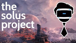 Escaping To Another Planet on PSVR | The Solus Project PlayStation VR Gameplay