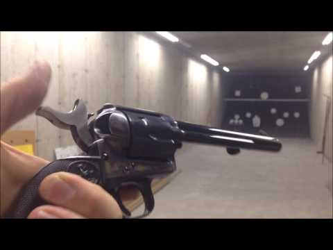 Brand New Colt Single Action Army SAA .45 Unboxing and First Shoot jeff shoots stuff jeffshootsstuff