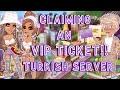 Claiming an VIP TICKET!! + VIP GIVEAWAY!!- MSP//Nicolxe MSP
