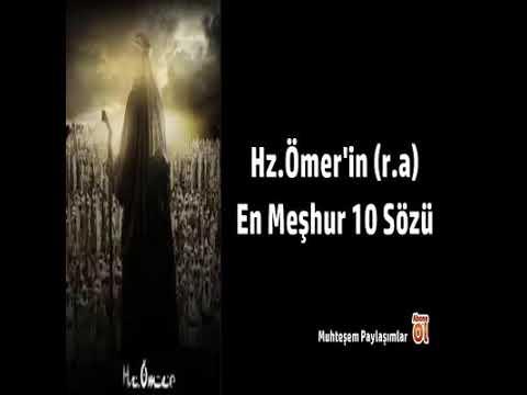hz omer in r a meshur 10 sozu