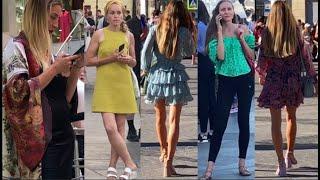 Оголенный Стрит Стайл Модниц Петербурга Как одеваются в России sity_streetstyles Street fashion
