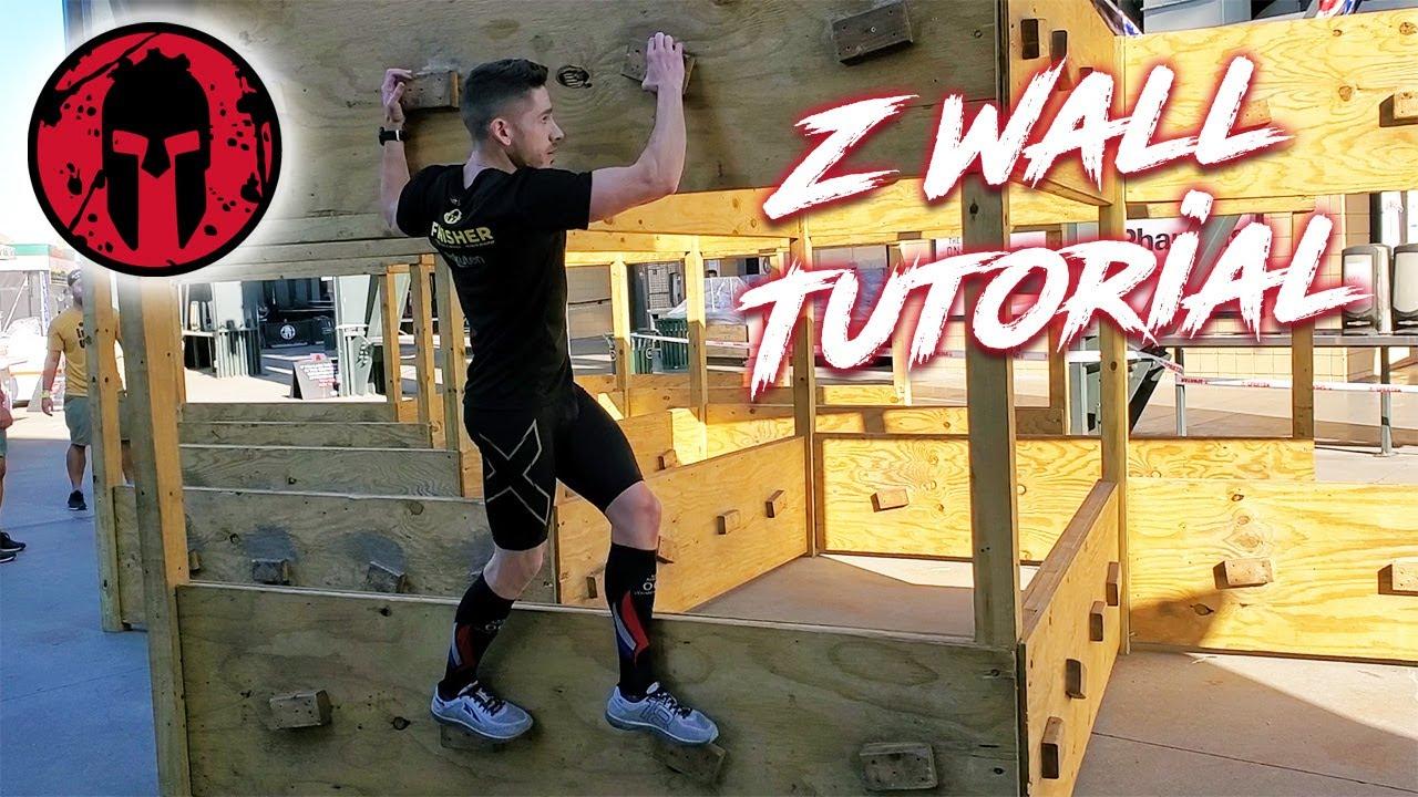 Spartan Race - Z Wall Tutorial