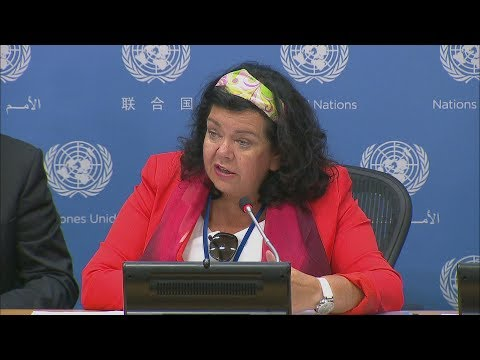 United Kingdom on the work of the Security Council in August - Press Conference (1 August 2018)