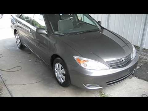 2004 toyota camry le quick start and short tour youtube. Black Bedroom Furniture Sets. Home Design Ideas