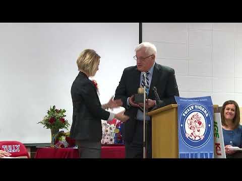 ExCEL Award  Holly Hawkins, Tully Elementary School