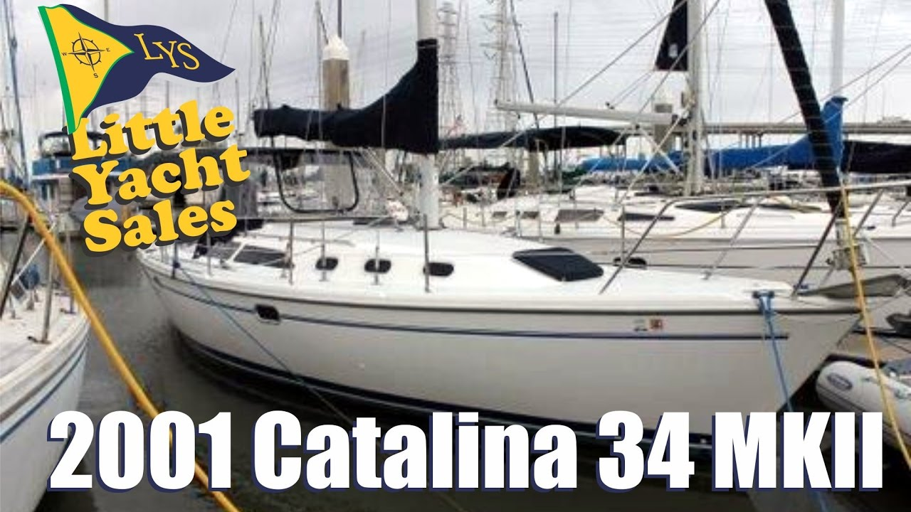 SOLD!!! 2001 Catalina 34 MKII Sailboat for sale at Little Yacht Sales,  Kemah Texas