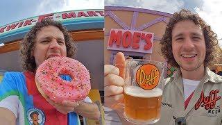 Probando comida de Los Simpson en VIDA REAL!