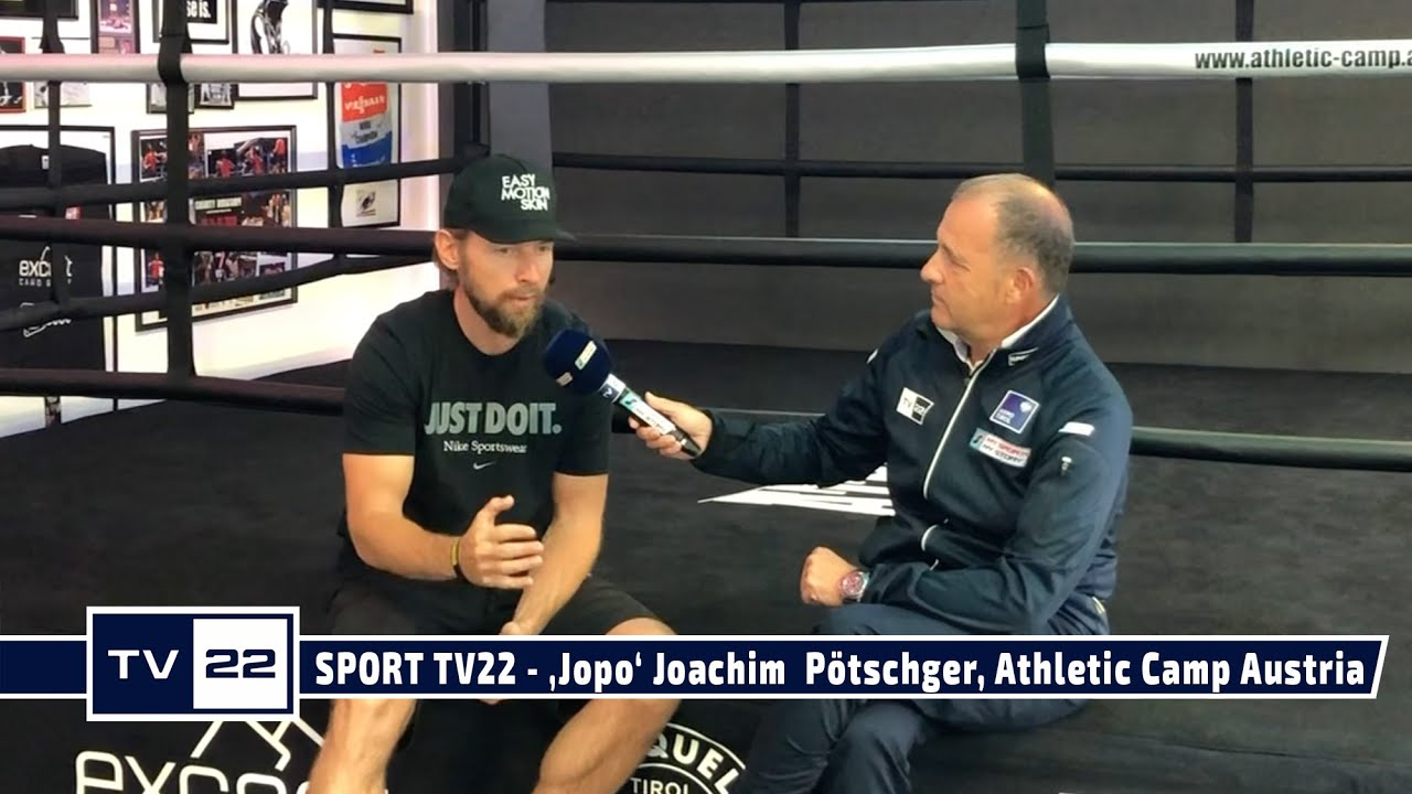SPORT TV22: 'Jopo' Joachim  Pötschger, Athletic Camp Austria