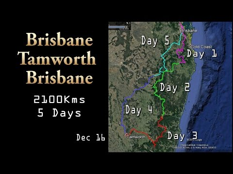 Brisbane to Tamworth and Back Adventure Bike Ride