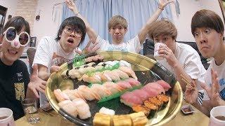 みんなで寿司食べたら1万円なんて余裕でしょwwwwwww