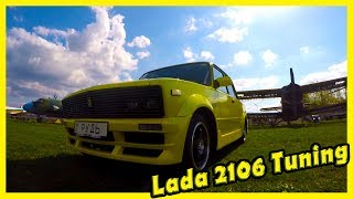 Lada Vaz 2106 Tuning Review. Old Russian Cars. History of Lada 2106. Legendary Soviet Cars