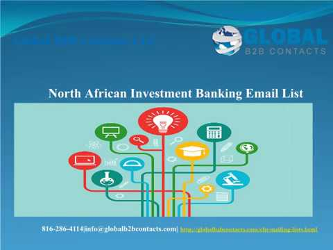 North African Investment Banking Email list