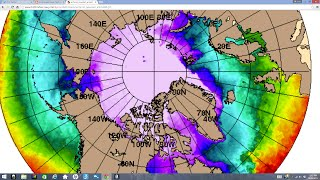 Arctic Anomaly: Large Circular Opening Has Formed In the Middle of the Ice Pack
