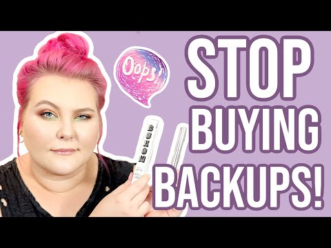 Makeup Backups and Why I Dont Think You Need Them!!  Tube Talk  Lauren Mae Beauty