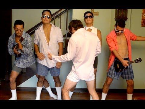 Risky Business Underwear Dance