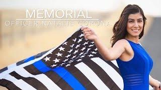 Raw: Davis Police Officer Natalie Corona memorial service (full service)