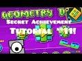 "Geometry Dash   ""The Vault"" Secret Achievement/Code Tutorial #11! (2.01)"