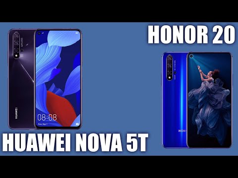 Huawei Nova 5T Vs Honor 20 Сравнение! Тоже самое что и Honor или что-то новое?