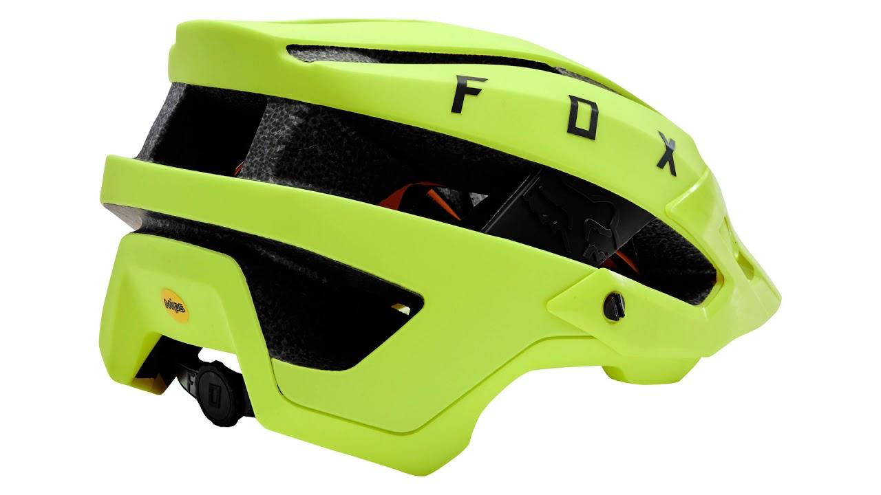4eddf5606 New Fox Flux Trail Helmet - First Look - YouTube