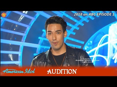 Sandor Milano from Russia SHOCKS w Ear-Piercing High Pitches Audition American Idol 2018 Episode 1