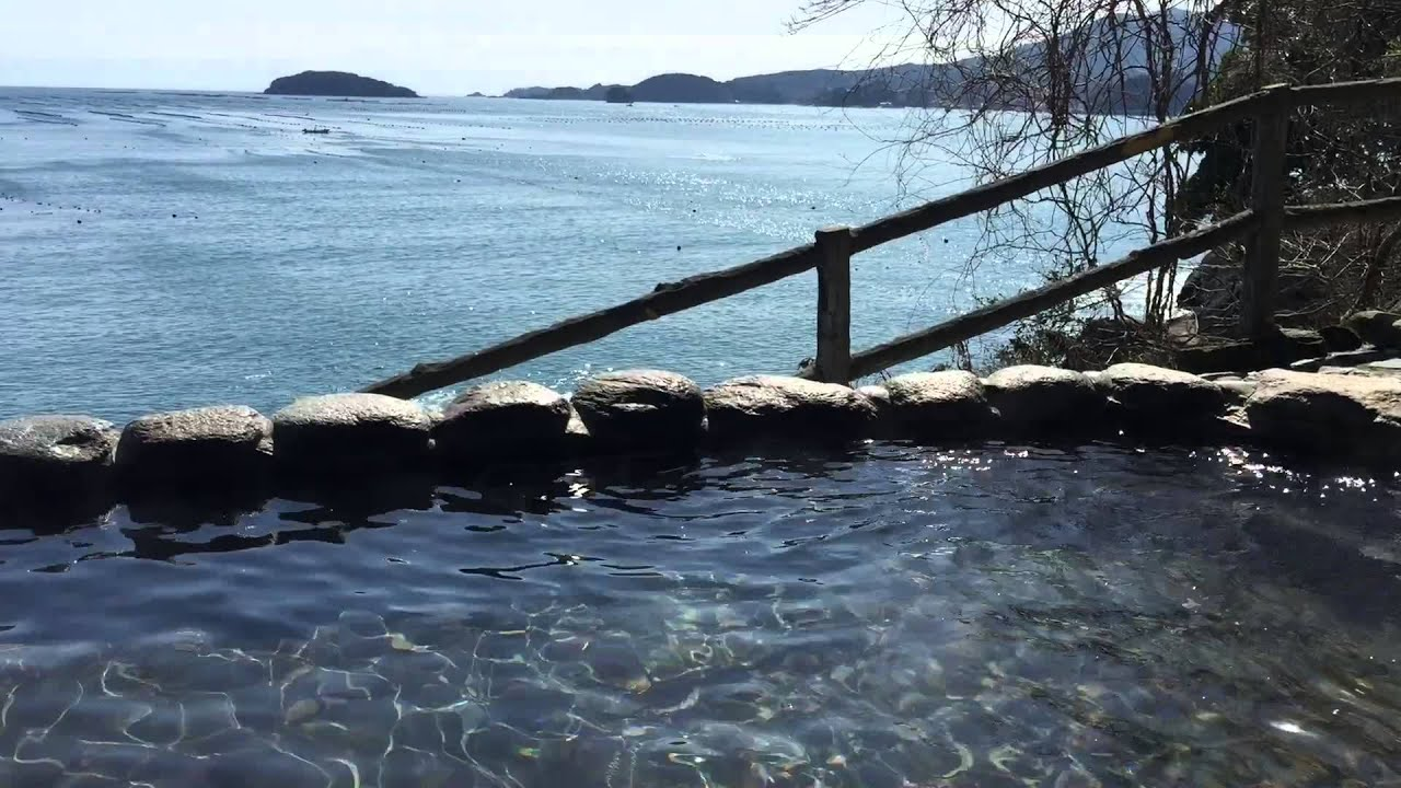 Must visit onsen (hot spring) in Minamisanriku Japan - YouTube
